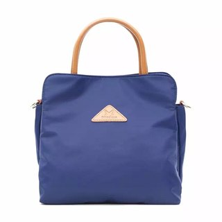 [Limited time free] simple anti-splashing shoulder back two backpack / large capacity / handbag / oblique bag / shoulder bag / Tote bag / blue / black / gray multi-color optional