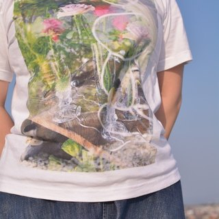 Flower art object T-shirt