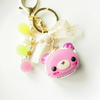 Sweet Dream ☆ Crown Peach Winnie Macaron / candy bag ornaments