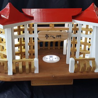 [Xiong can be a wood workshop]//Customized/ Lake Xinting style night light (in stock), customized model, customized night light