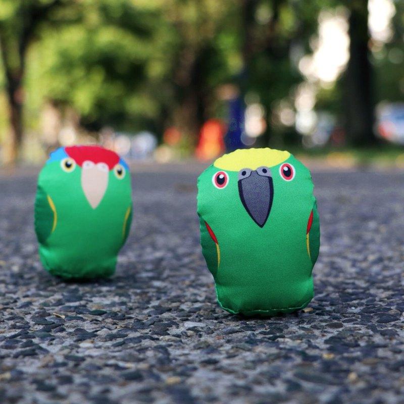 DIY手作鸚鵡 ∣ 大紅帽/黃帽亞馬遜 Amazon ‧ 紙鎮手作材料包