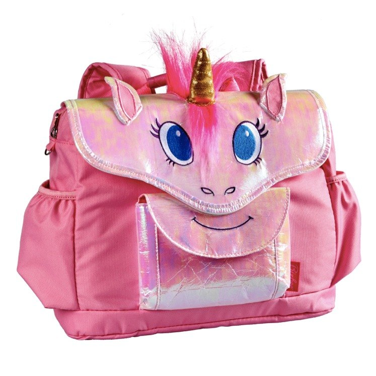 United States Bixbee3D animal childrens series - Magic pink Unicorn horse child backpack