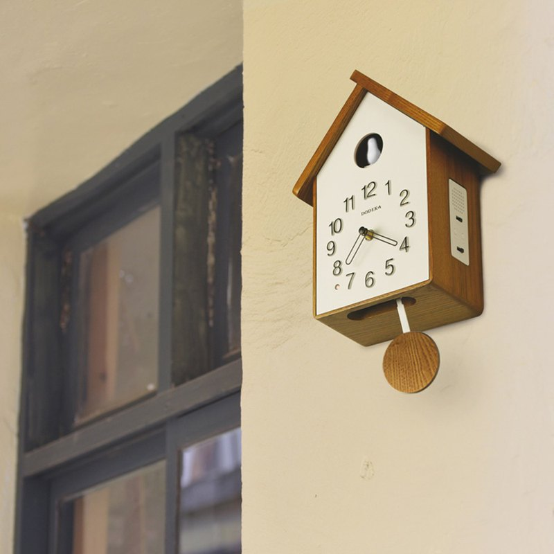 Dodeka- 咕咕布谷鸟 chronograph clock wall clock