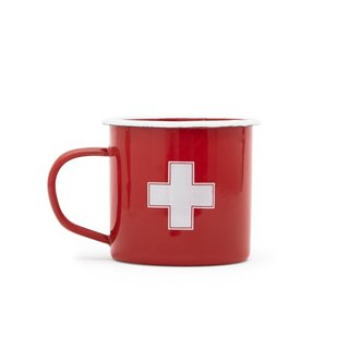 Pharmacy Cross - US Izola 珐琅 Mug 330 ML