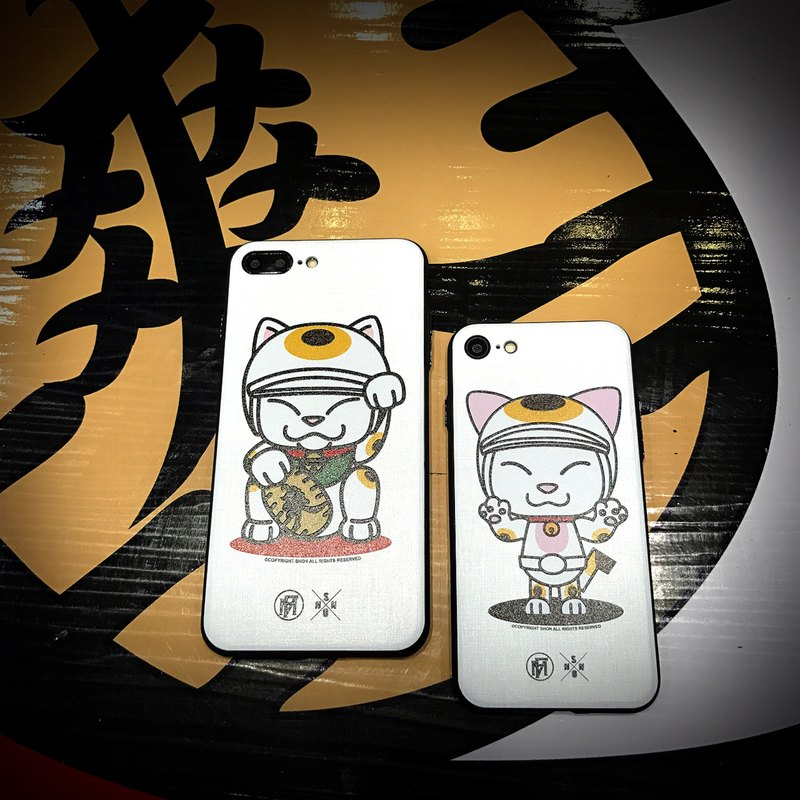 "Flame X Shon (Taiwan Toys people) ""CatRider"" series Phone Case (Made for 7)"