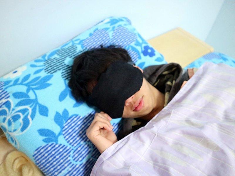 低調黑 ~  紅豆溫敷眼罩 mask 可替換 調長短 電腦族手機族最佳保養眼睛方式