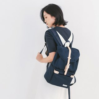 [THE DUDE] girls backpack bag water-repellent travel bag dual-use Havana - dark blue