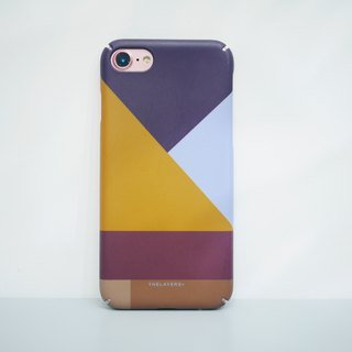 GRAPHIC PRINT - TAWNY BLUE iPhone Case