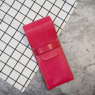 [Mini5]Pen loops leather pen case (red)
