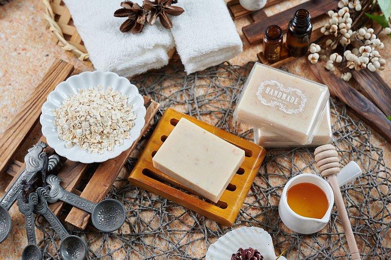蜂蜜燕麥牛奶皂