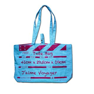 Director Clap Tote Bag - Blue