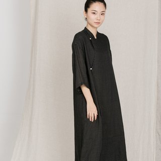 BUFU oversized ramie dress D161001