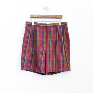 Banana Flyin vintage vintage check shorts