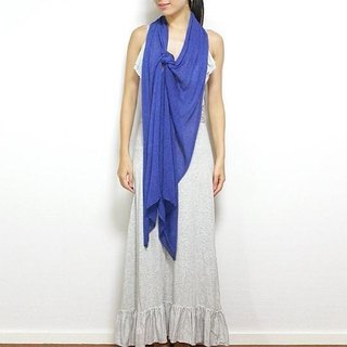 Basic Stole [Media] Royal blue