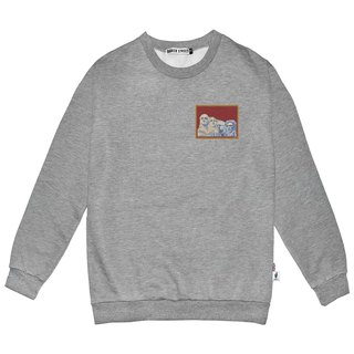 British Fashion Brand -Baker Street-Little Stamp:Mount Rushmore  Printed Sweater