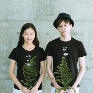 Skov Couple T-Shirt/Couple/ Cotton Short Sleeve/ Fresh Art/ T-shirt