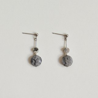 Earth and Ocean Natural Stone Earrings