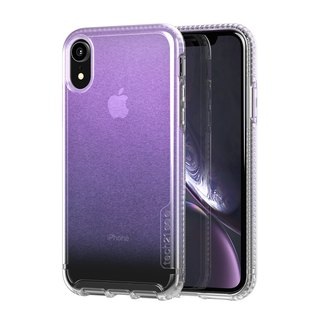 British Tech 21 anti-collision hard protective shell - iridescent powder iPhone XR (5056234705322)