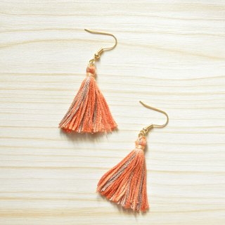 armei 秋色。秋楓 流蘇耳環 Autumn Maple Tassel Earrings Koyo Style