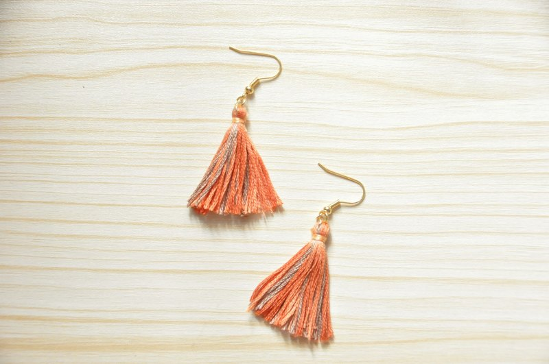 armei Autumn Maple Tassel Earrings Koyo Style