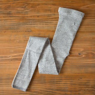 Linen knit leggings (gray) one-size-fits-all