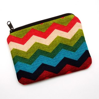 Zipper pouch / coin purse (padded) (ZS-198)