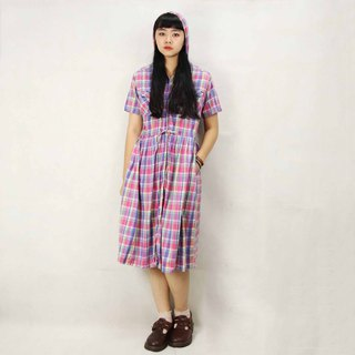 Tsubasa.Y Ancient House 024 plaid party two vintage dress, dress skirt dress