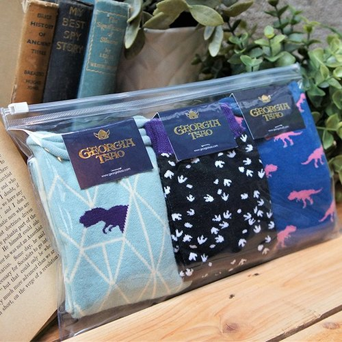GT dinosaur cotton socks