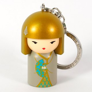 Key ring-Yasuko complete akang [Kimmidoll and blessing doll key ring]