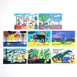 Traveller Postcard Set 3