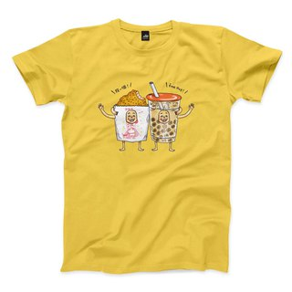 Chick is healing - yellow - neutral t-shirt
