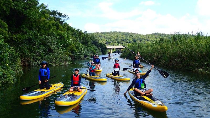 新北福隆・古道水路之旅・輕鬆體驗 SUP 體驗 (假日)
