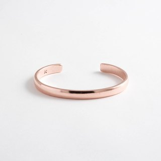 Pittsburgh staff person brand Studebaker Metals pure hand-forged copper bracelet Lodge Cuff