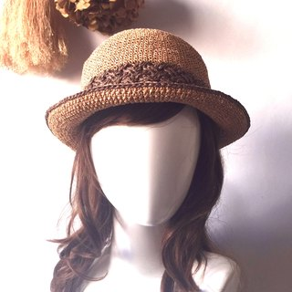 Life test questions hand weaving shade 㡌 / paper pull Philippine straw hat / straw hat / hand cap〗 〖jump house crazy hand