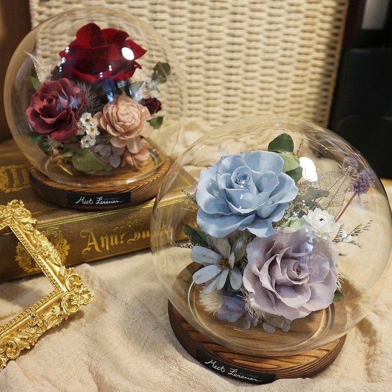 【遇見恆久】現貨區  永生花玻璃罩系列 開幕祝賀/新家擺飾/送禮