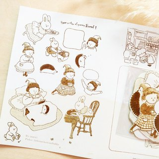 Pocket sticker I Elf's daily life