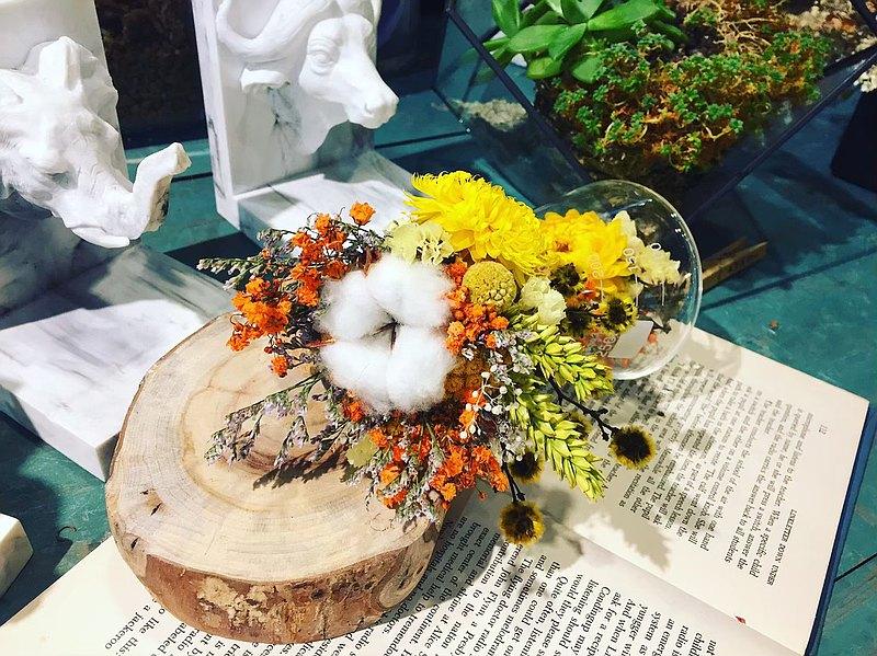 【乾燥花手作體驗】瓶中花—讓生活是一場美的實驗/附下午茶一份