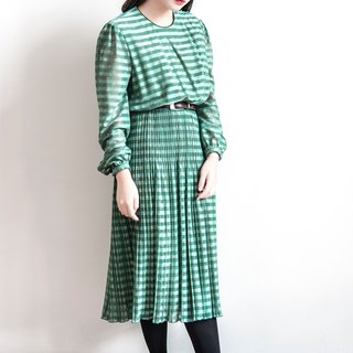 Vintage Long Sleeve Dress