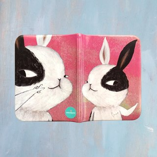 EmmaAparty Illustration passport folder: yaya rabbit