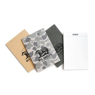 Filter017 x 9 Komuyama Mix Badger Legal Pad flip tear the notebook