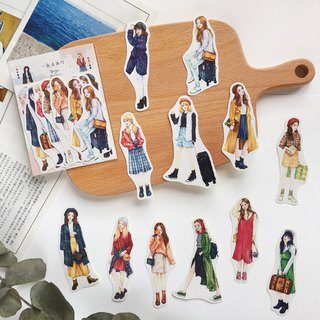 【Travel together】 12 into the sticker group
