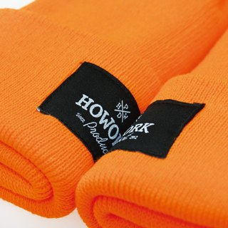 HWPD│ thick version of the classic wool cap glossy orange (refer to Kanye West / Yeezy / Justin Bieber)