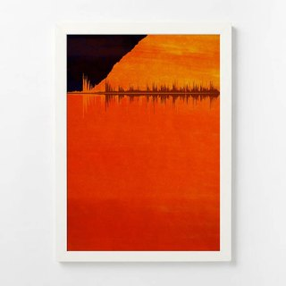 Custom Sonic Art Decoration Picture Sound Landscape A3 Draw Frame