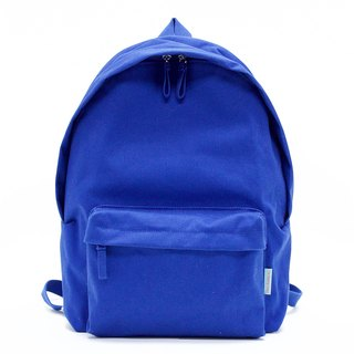 Waterproof Heavy Canvas Backpack / Blue