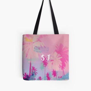 Personalized Palm Print Tote Bag,  Customized bag