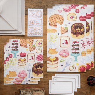 Afternoon Tea Time - OURS Central POST Letter Set