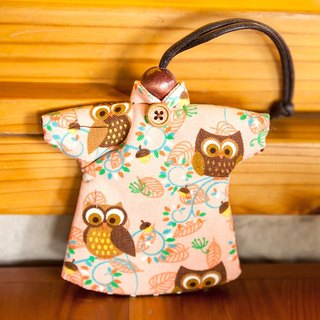 Le Sew than the rabbit LoveRabbit- Goo Goo Lu Lu owl Wallets - can house keys, clothes modeling, owl
