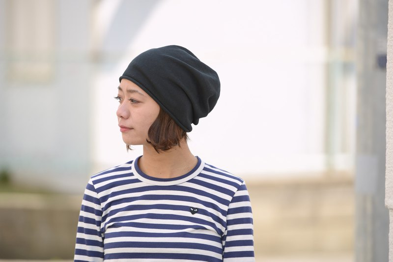 fc4c72b5125 Made in JAPAN Organic Cotton Seamless Summer Beanie Hat Slouchy Cooling  Unisex - Designer Casualbox