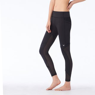 "[MACACA]-2"" hip fixed convection pocket cropped trousers - ASE7761 black"