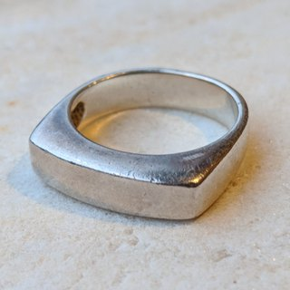 Vintage French Sterling Silver Ring